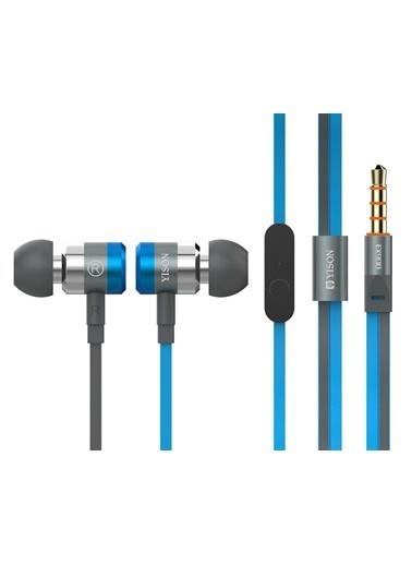 Bludfire Yıson Ex900 Süper Bass Kulaklık Mavi Mavi